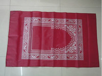 Wholesale cheap price Prayer Mat Islamic travel pocket size protable muslim prayer mat with compass manufacturer high quality in stock