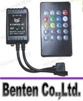 advanced micro controls - LLFA7820 key infrared music LED ir controller adopts the advanced micro control unit for RGB led strip