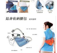 Wholesale hot sale outdoor waist bags men women sport fitness running packs waistband with kettle earphone school travel belt bag colors