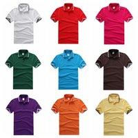 IMVATION 2015 nuovo modo superiore vendita calda popolare POLO casuale Collo Sport Top 100% cotone manica corta T-shirt di 9 stili