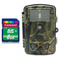 Wholesale Free GB Game Hunting Scouting Trail MP Camera Cam nm Blue Led Low Glow