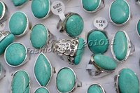 american turquoise jewelry - Ring Jewelry Turquoise Alloy with Silver P Rings Jewelry Fashion Stone Rings