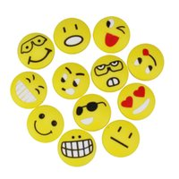 Wholesale Facial Expression Silicone Tennis Squash Racket Vibration Dampener Shock Absorbers with Kinds of Designs
