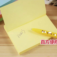 Wholesale 76 mm pages Pad Note Pads Memo Pad Writing Scratchpad Sticky Notes Students Business Meeting Can paste many Times