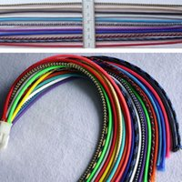 Wholesale 2mm Braided PET Expandable Sleeving New High Quality Color Selectable M