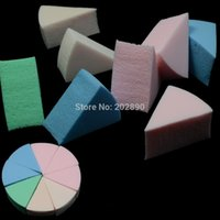 Wholesale 80pcs Wholesales Sponge Puff Face Soft Smooth Blending Powder Puff Cosmetic Foundation Remover Puff Make Up Tools NC040x80