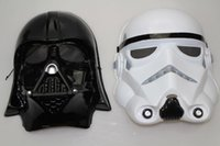 Wholesale star wars mask darth vader Empire Storm Clone trooper helmet black warrior Empire soldiers Halloween mask party games Mask cosplay mask war