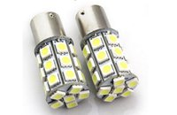 Wholesale Red Yellow PY21W BAU15s DC V Backup Signal Blinker Tail Light LED Tail Brake Light Bulb Lamp