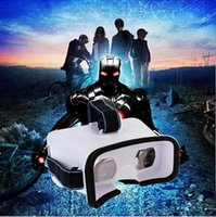 Wholesale 2016 VR Virtual Reality D Video Glasses Google Cardboard For Smartphone Color White
