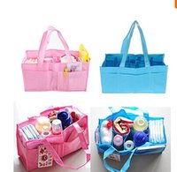 ab handbags - Mummy Bag Bottle Storage Multifunctional Separate Bag Nappy Maternity Handbag Baby Tote Diaper Organizer AB
