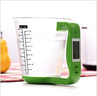 Wholesale High Quality Balance Electronic Digital Cup Scale g g LCD Display Electronic Scale amp Digital Kitchen Weight Scale