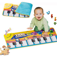 animal piano games - Alfombra Multifunction Baby Play Crawling Mat Touch Type Electronic Piano Music Game Mats Animal Sounds Sings Toys for Kids Gift