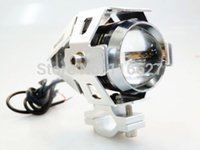 Wholesale Transformers W CREE U5 LED Motorcycle Spot Driving Fog Light for Dirt Bike Dual Sport Enduro ATV HARLEY BMW Custom
