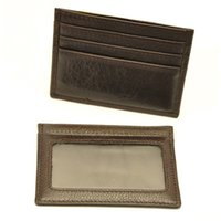 Wholesale Vintage Mens Business Card Holders Precious Trunk Pattern Mens Card Holders Cowhide Genuine Leather Material Sale KZ kybl001
