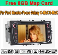 Wholesale Touch Screen Double Din Car DVD Radio Stereo FM AM Radio RDS BT AUX Phonebook For Ford Mondeo Focus