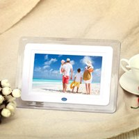 best digital frame - Best gift inch HD TFT LCD Digital Photo Picture Frame Alarm Clock MP3 MP4 Movie Player with Light Remote Desktop EU US Plug D1724
