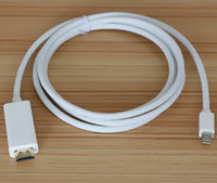 Wholesale 2015New arrived m ft P Mini DisplayPort Display Port DP to HDMI Cable Adapter for Apple Macbook Mac Pro Air