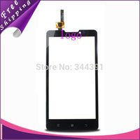 touchscreen - 10pcs Original new touch screen digitizer touch panel touchscreen for Lenovo P780