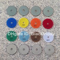 Wholesale 4 inch Diamond Polishing Pad Dry A Grade Marble and Granite Tools Fast Gloss Long Life Diamond Tools China Sander Disc