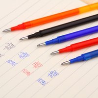 Wholesale New Fashion Useful mm Writing Point Erasable Ballpoint Pen Refill Office School Writing Supplies for Student Officer