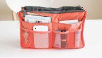 Wholesale Free DHL Promotions Lady s organizer bag in bag handbag buggy bag organizer travel organizer insert with pockets storage