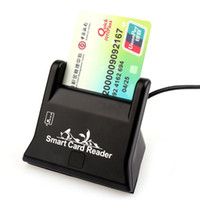 atm card reader - Fashion New Convenience USB Smart Card Reader Support Network ATM Banking Transfers Tax Creadit Card Payment