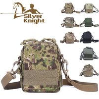 army acu bags - Hot Sale D Nylon Men ACU Tactical Messenger Bags Army Hiking Cycling Molle Pouch Single Shoulder Feminina Pack