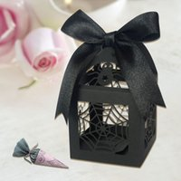 best web design - Latest design paper cut event party spider web favor boxes best sell high quality sweet chocolate boxes for halloween party deco