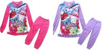animal clothing shops - Newly Kids Clothing Set Shopping World Cartoon Pajamas Set Pyjamas Colors Girls Outfits Set Homewear Sets Color