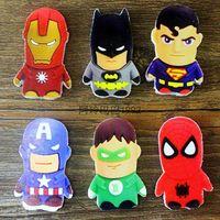 Wholesale 1000pcs box Cute Cartoon The Avengers Rubber Eraser for Kids Gift School Cartoon Girls Children Kid Favor Gift