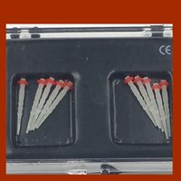 Cheap Highly Recommended Red Ring 1.2mm Dental Endo Spiral Fiber Posts Tips Protaper Files