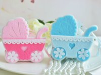 baby carriage centerpieces - 10pc Baby Carriage Wedding Favor Boxes Gift Chocolate Box Gift Bags Baby Show Birthday Party Candy Box Wedding Centerpieces