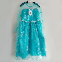 Cheap Cheap china wholesale clothing elsa dress cosplay costume in frozen girls party dresses women new fashion clothes