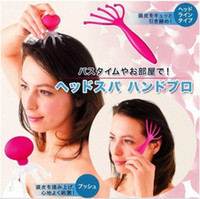 Wholesale New Stress Relax five Fingers Head Massager Head Neck Scalp Massager Massage Equipment Tool Promotion Small Gift