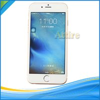 Wholesale New inch mobile phone i6s Real Fingerprint Touch MTK6572 Dual Core Ghz Android Smart Phone