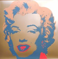 One Panel andy warhol marilyn monroe painting - Modern Art Marilyn Monroe by Andy Warhol oil painting Canvas High quality Hand painted