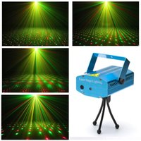 Wholesale new generation of the laser family holiday mini mobile stage laser KTV disco party DJ flash projector dim club stage lighting effect