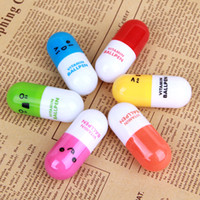 Wholesale New Cute Morph Scalable Cartoon Pen For Kids Or Women School Supplies Pill Ball Pen TY23