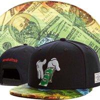 Wholesale 2015 new black gold adjustable baseball snapback hats and caps for men women sports hip hop mens womens fashion street headwear