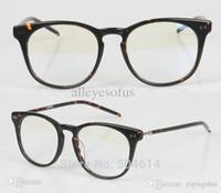 Wholesale New Arrival Japanese Round Shape Retro Hand Made Acetate Flex Reading Eyeglasses Frames For Unisex Lady Girl Women Mens