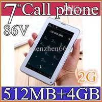 Wholesale SH NEW Colorful Inch V A13 G GSM Phone Sim Calling Tablet PC Android GB M RAM Dual Camera Capacitive Screen Wifi PB07