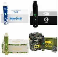 vapes - green vaporizers water Temperature Control rechargeable variable voltage snoop dogg g gro floral Herbal Vaporizers vapes