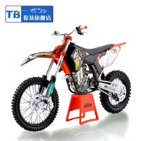 Big Kids motor cycle - 1 scale new kids Motorcycle KTM SX F09 off road mountain motor cycle Diecast motorbike Alloy metal models race bike toys