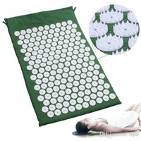 Wholesale Health Care Pain Relief Acupuncture Body Massage Mat Ease Combat Yoga Massage The Pad Stress Sore Muscles and Sleep Deprivation