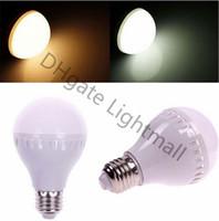 Wholesale B22 E27 LED Globe Bulbs Lights W W W W W SMD LED Light Bulbs Warm Pure White Light Bulbs Energy saving Light Lamp LED Bulb Light