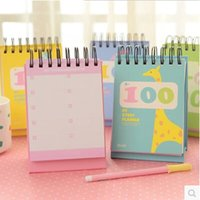 Wholesale Korea Cute Notebook Week Plan Book Diary Day Planner Schedule Book Office School Supplies Stationery