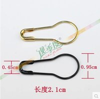 safety clothing - Clothes pin gold black silver small pin safety pin gourd needle steel wire pin cm for tag