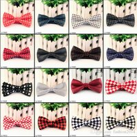 Wholesale New arrival Unisex Neck Bowtie Bow Tie Adjustable Bow Tie High quality metal adjustment buckles Color Optional multi style