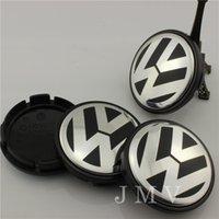 Wholesale DHL Price Germany mm Convex VW Volkswagen Wheel Hub Cap Emblem J0601171 Volkswagen Center Cap