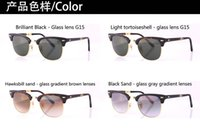 sun glasses - BanDtun Folding Sunglasses Plank Frame Original Glass G15 Lense UV400 Men Women Brand Designer Sun Glass Top Quality